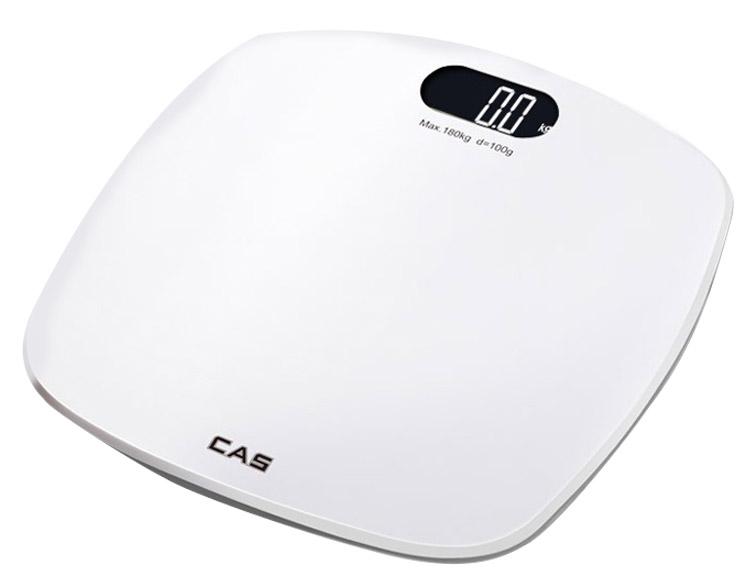 카스 디지털 체중계 HE-58, 화이트