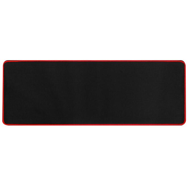 칼론 장 마우스패드 OKP-L9000, 블랙 + 레드, 1개