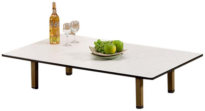 포메리트 6인용 테이블 PVC다리 중형, 메이플