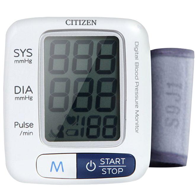시티즌 손목형 자동 혈압계, CH-650, 1개