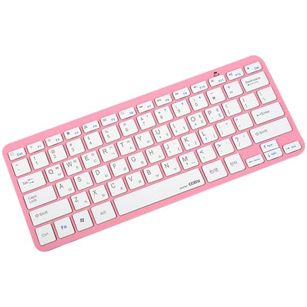 코시 모모블루투스키보드 KB1371BT 핑크, 단일상품
