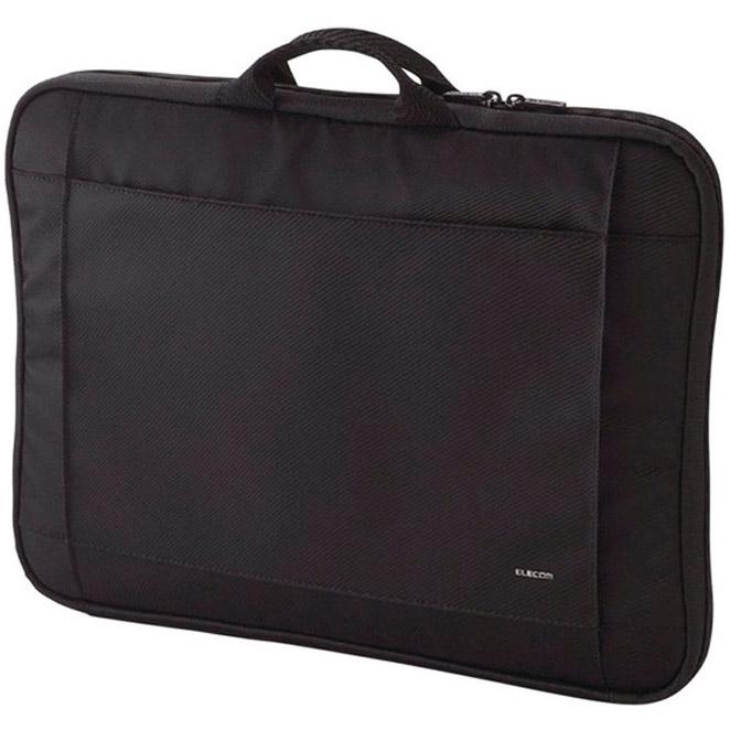 엘레컴 가벼운 손잡이형 노트북 이너백 BM-IB017BK, 블랙, 1개