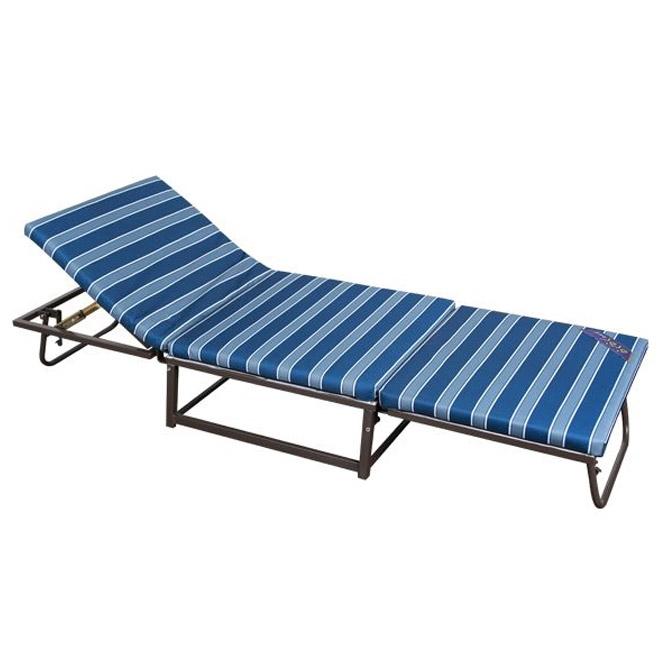[접이식침대] 라꾸라꾸 레져용플러스 침대, 블루