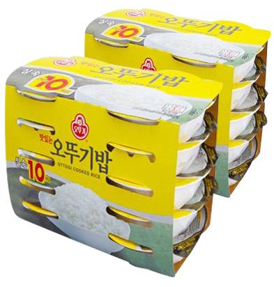오뚜기 맛있는 오뚜기밥, 210g, 20개