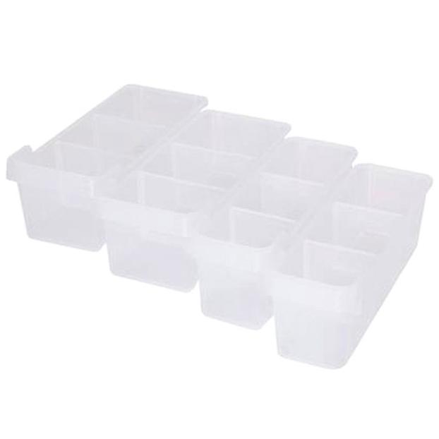 창신리빙 스토리G 3호 냉장고 저안트레이세트 4p (1호 2p 2호 2p), 4p (1호 2p, 2호 2p), 1개
