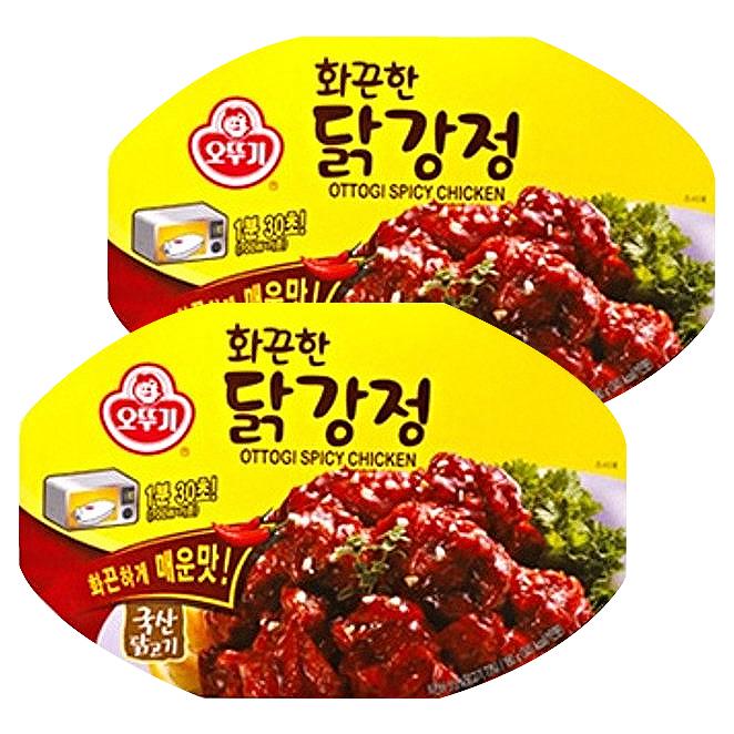 오뚜기 화끈한 닭강정 180g 2개