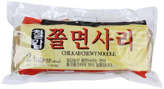 칠갑농산 쫄면사리, 2kg, 1개입