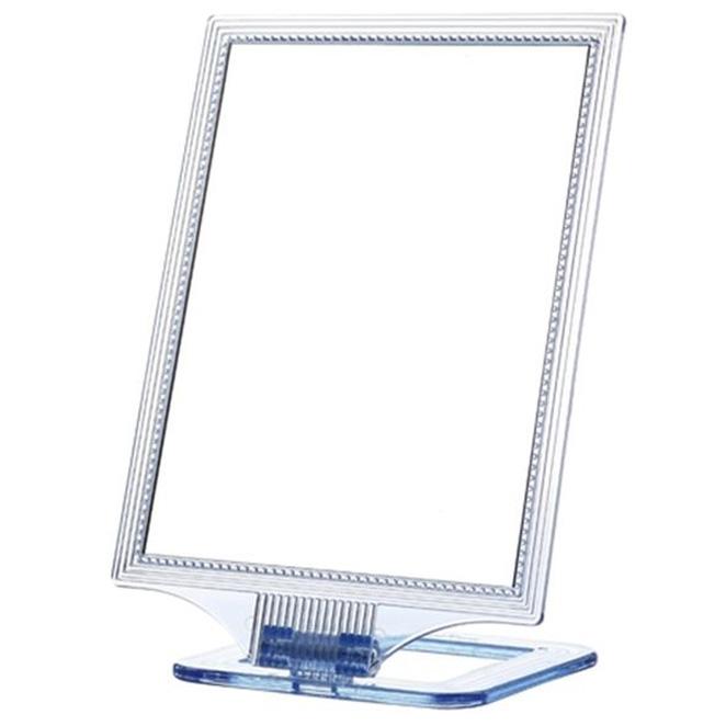 세븐스타 진주 사각 거울 L, 투명