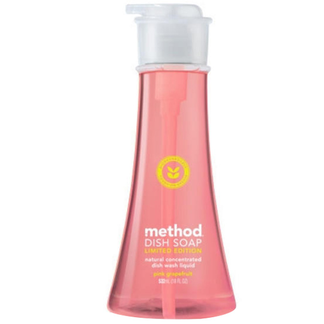 메소드 디쉬 솝 핑크 그레이프후르트 주방세제, 532ml, 1개