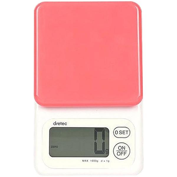 드레텍 디지털 전자 저울, KS-171PK, 핑크