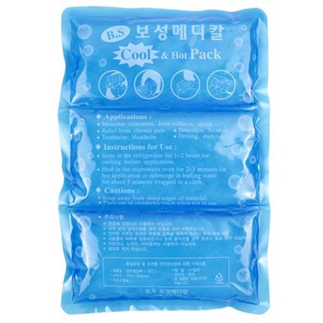 보성메티칼 냉온 찜질팩 3단, 1개