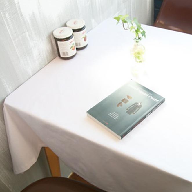 까사베르데 더순수 식탁보, 화이트, 2인 (130 x 130 cm)