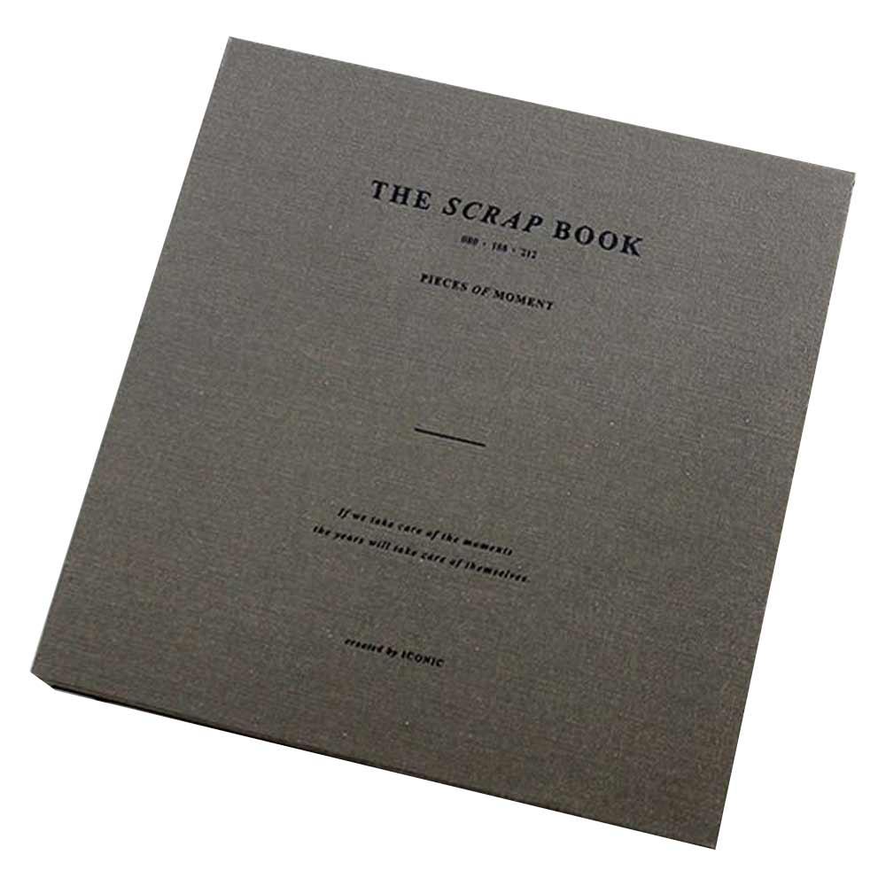 아이코닉 스크랩북 v.2, 카키 그레이, 본상품