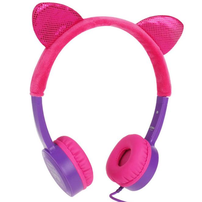 코시 키즈 청력보호 헤드폰, 핑크, HP3061