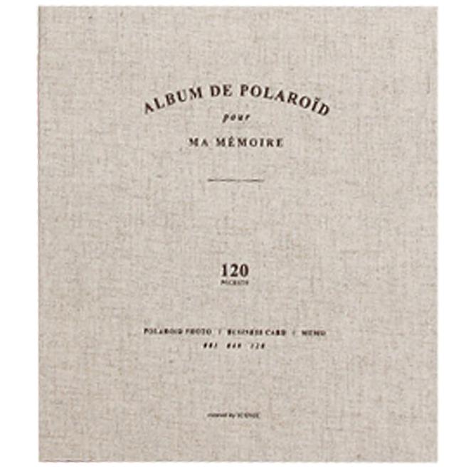 [아이코닉]폴라로이드 네임카드, 오트밀, 120칸