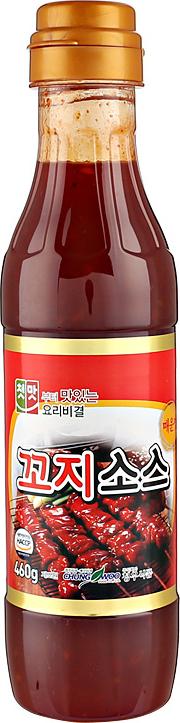 청우 꼬지소스 매운맛, 460g, 1개