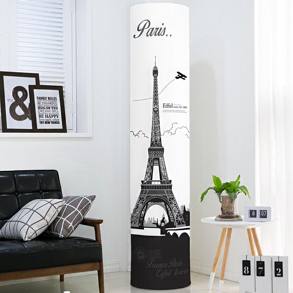 다샵 프리미엄 DTP 스판 에어컨 커버 원형, 스탠드 에펠탑
