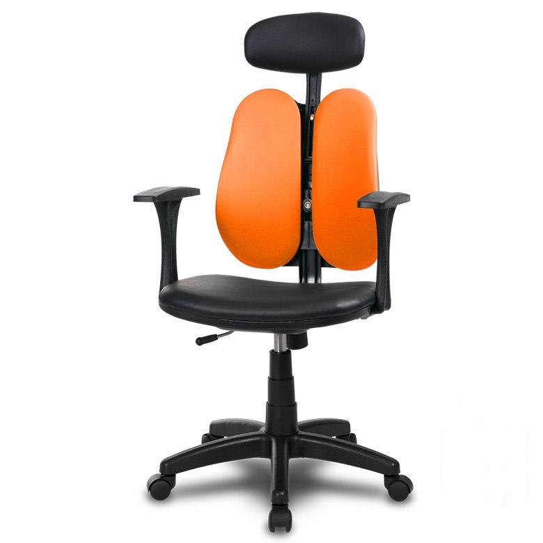 체어클럽 G-플러스백 B형 메쉬원단 의자, 오렌지