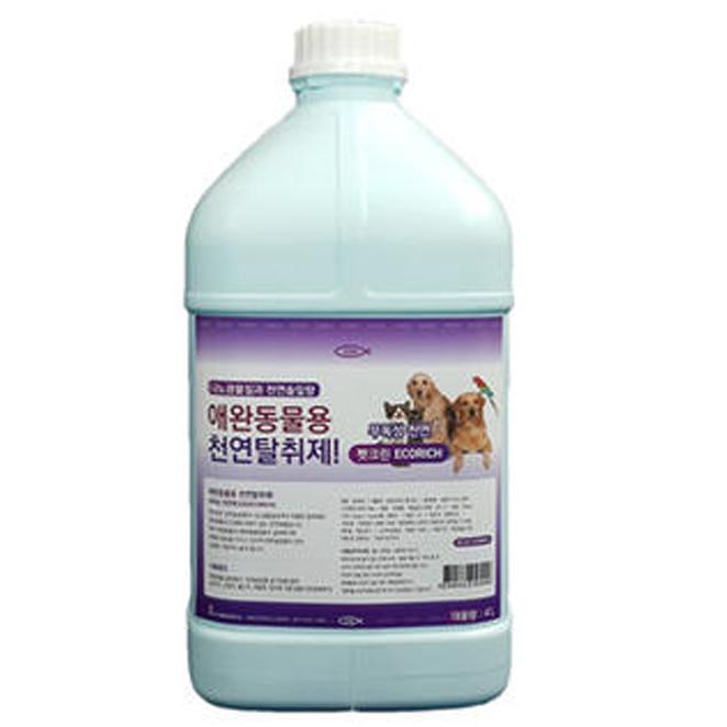 이담테크 반려동물용 천연탈취제 솔잎향, 4L, 1개