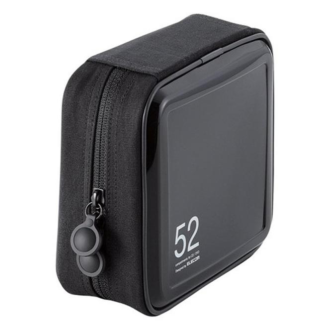 엘레컴 세미 하드 CD 케이스 52매, CCD-H52BK