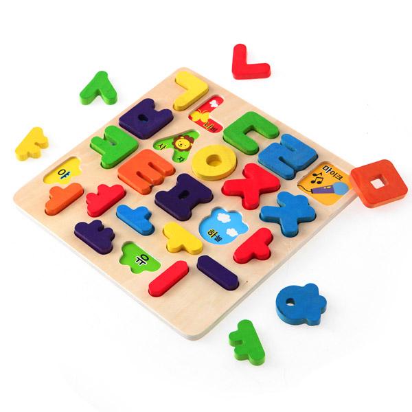 토도리브로 원목교구 한글 판퍼즐, 원목교구 한글판퍼즐