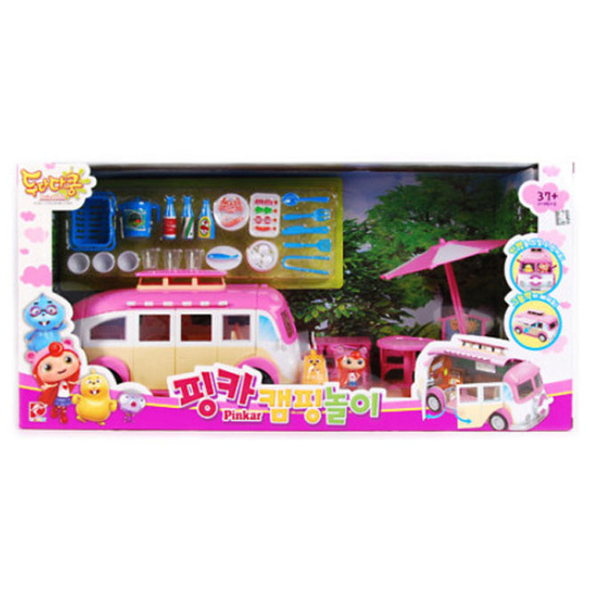 피노키오 두다다쿵 핑카 캠핑놀이 장난감세트 PN1501-6, 혼합색상