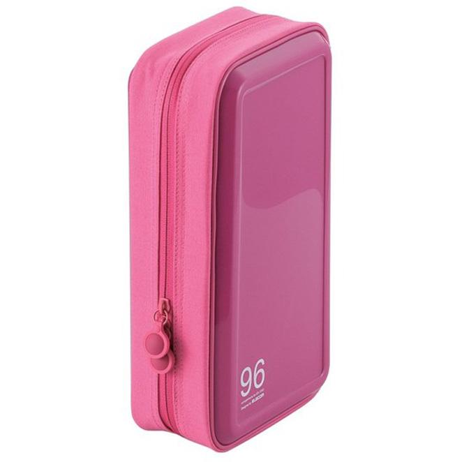 엘레컴 세미 하드 CD 케이스 96매, CCD-H96PN, 핑크