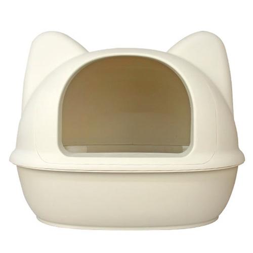 아이캣 고양이모양 점보 화장실, 아이보리
