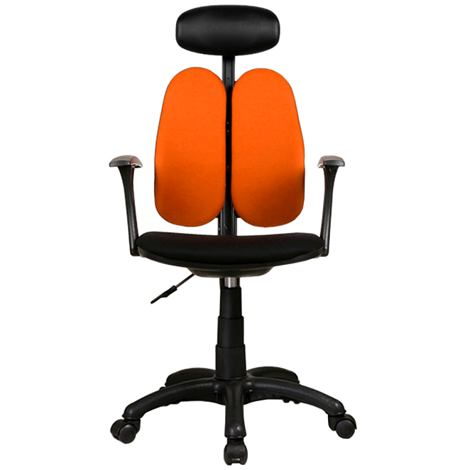 체어클럽 G플러스백 B형 의자, 오렌지