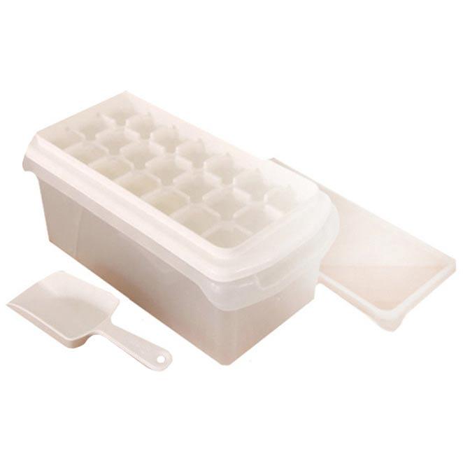 일조 얼음컨테이너 + 21홀 뚜껑제빙기 + 얼음스푼, 혼합 색상