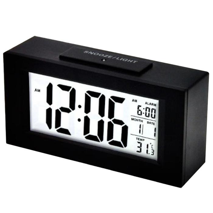 촘스토리 센서라이트 디지털 탁상시계 SL-03, 블랙