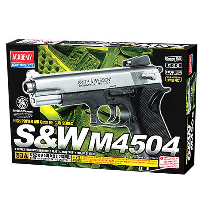 아카데미과학 S&W 비비탄총 M4504, 1개