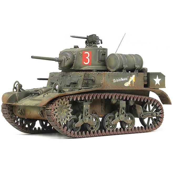 아카데미과학 M3A1 스튜어트 경전차 내부재현모형, TA992
