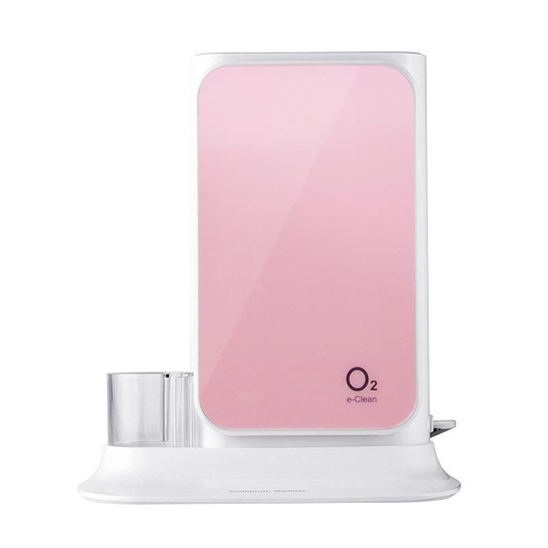 오투케어 가정용 칫솔 살균기, BS-7600S, 핑크