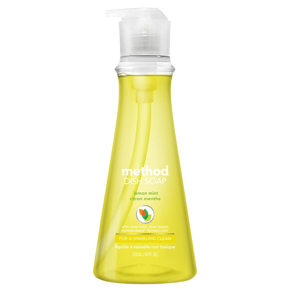 메소드 왕뽀득 주방세제 레몬민트향, 532ml, 1개