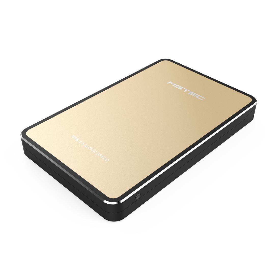 엠지텍 USB3.1 테란3.1B 외장하드, 1TB, 골드