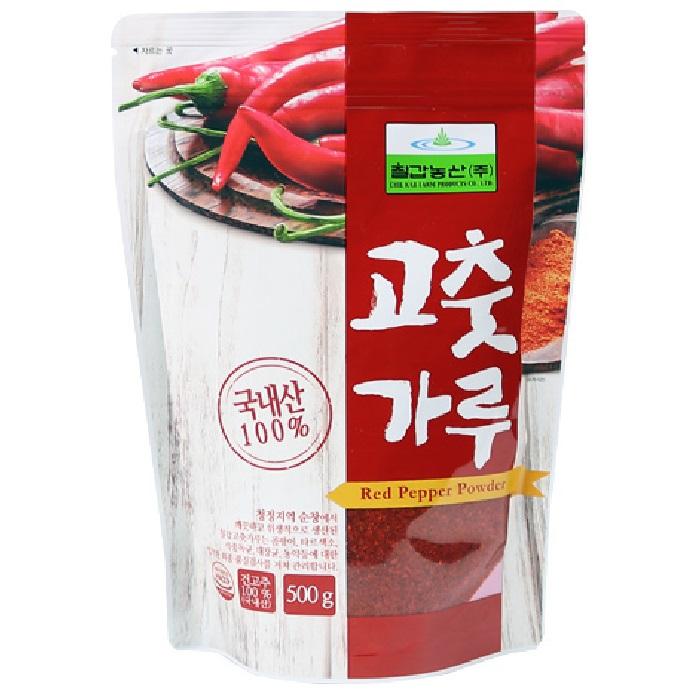 칠갑농산 고춧가루, 500g, 1개