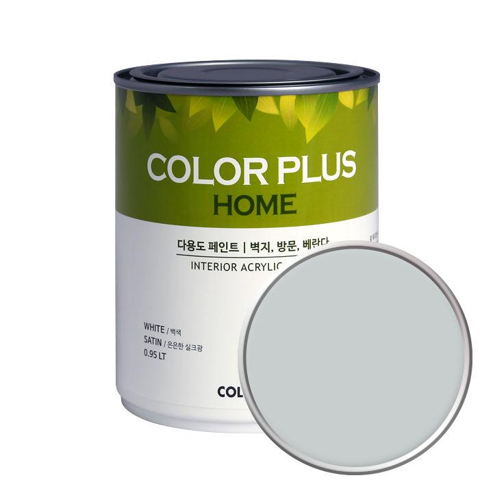 노루페인트 컬러플러스 홈 페인트 1L, 아트그레이