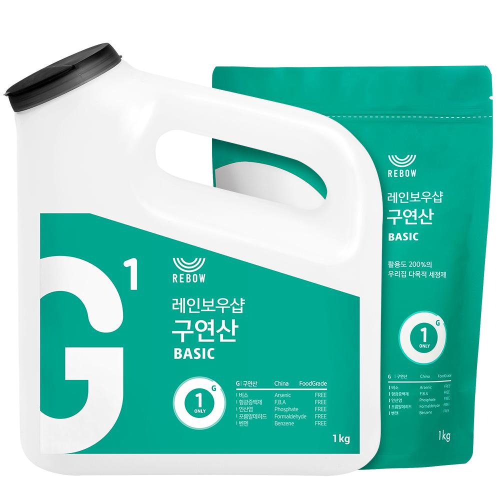 레인보우샵 왕톡톡이 구연산 리필세트, 1set