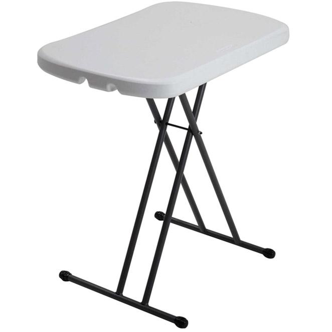 라이프타임 미니 접이식 테이블 80251, 화이트