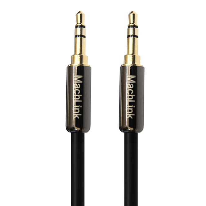 마하링크 3.5mm 스테레오 고급형 AUX 케이블, ML-STH100, 혼합 색상