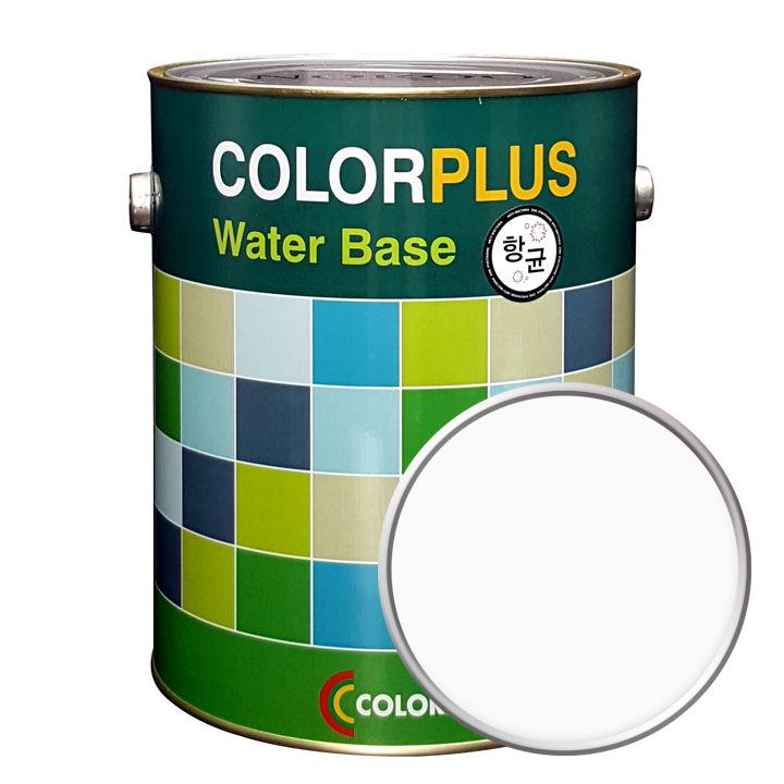 노루페인트 컬러플러스 페인트 4L, 퓨어화이트