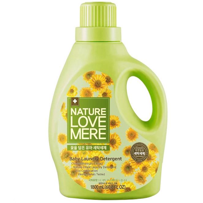 네이쳐러브메레 꽃을 담은 세탁세제 국화꽃향 1800 ml, 1개