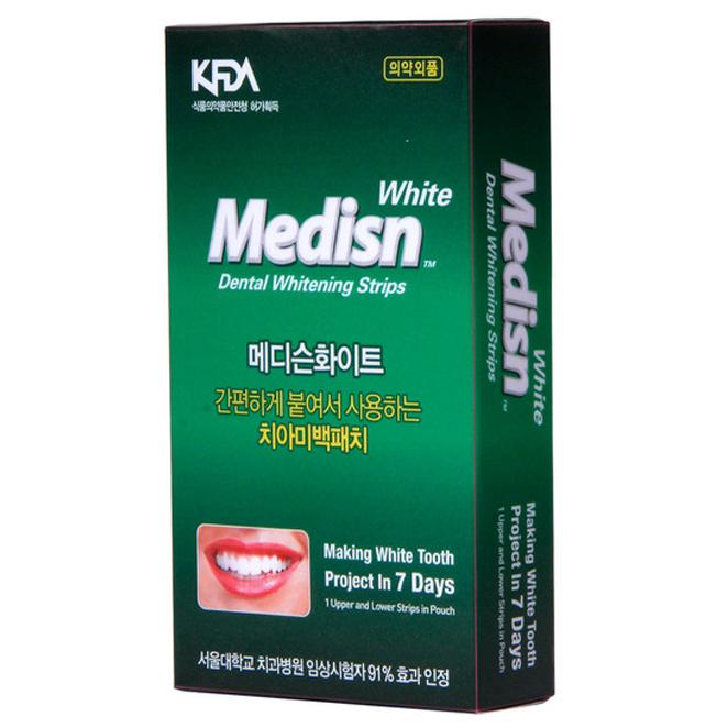 뉴 메디슨화이트 치아 미백패치 셀프 화이트닝 치태개선효과, 1개