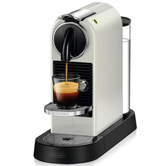 네스프레소 시티즈 커피머신 EN167, 화이트