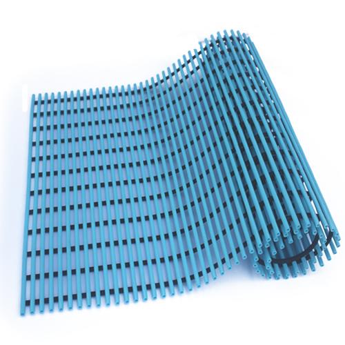월광매트 일반형 미끄럼 방지 매트 60 x 100 cm, 하늘색, 1개