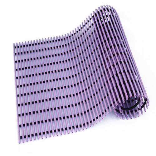 월광매트 일반형 미끄럼방지매트 90 x 100 cm, 보라색, 1개