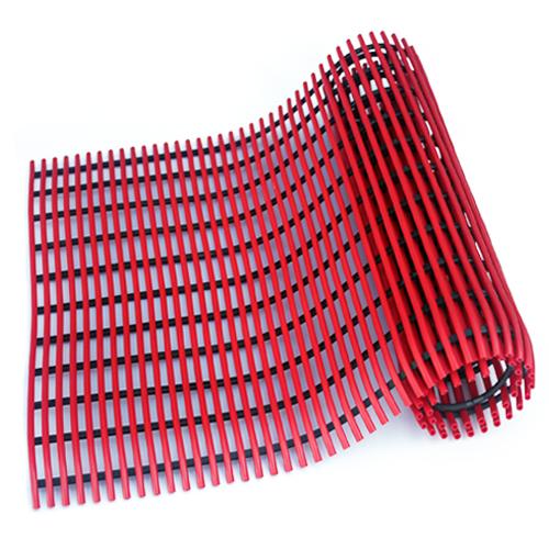 월광매트 미끄럼 방지 매트 일반형 90 x 150 cm, 빨강색, 1개