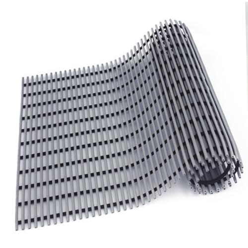 월광매트 미끄럼 방지 매트 일반형 90 x 150 cm, 회색, 1개