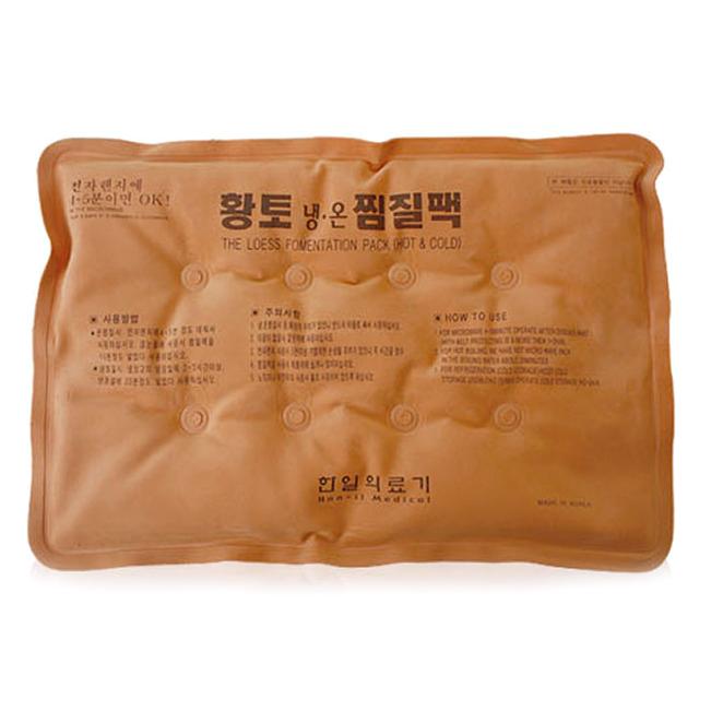 한일의료기 인견사 황토 냉온 찜질팩, 1개